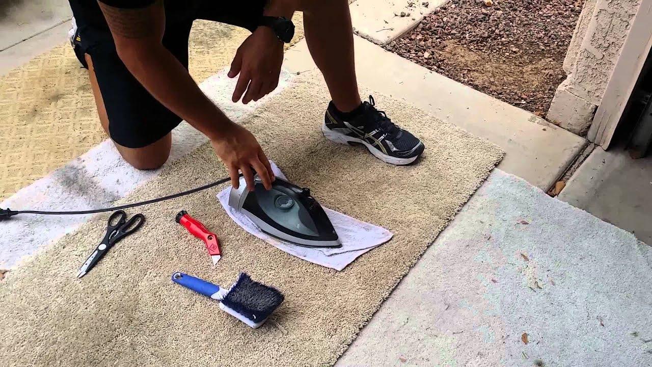 How to repair carpet fix or repair carpet