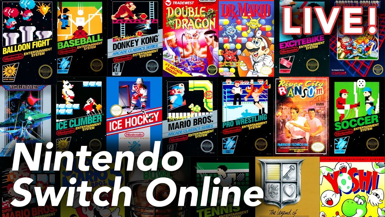 Nintendo Switch Online with Paul and Ethan   9/19/18