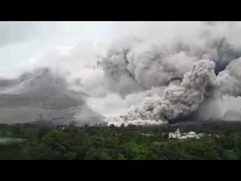 Mount Sinabung North Sumatera - Indonesia  erupted back in 26th agust 2016