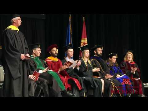University of Minnesota Rochester 2016 Commencement