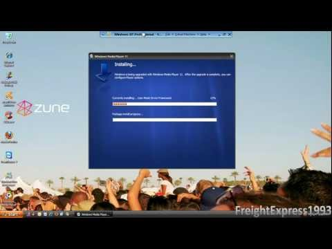 How to download and install Windows Media Player 11 on Windows XP