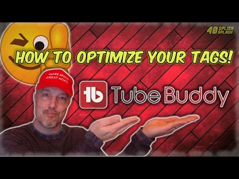 How To Optimize Your Tags Using TubeBuddy! (Video SEO) - 동영상