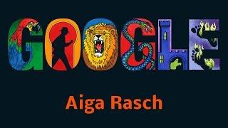 Aiga Rasch - 74. Geburtstag 📆 9. Juli 2015 - Die drei ??? 👀 (Google Doodle)