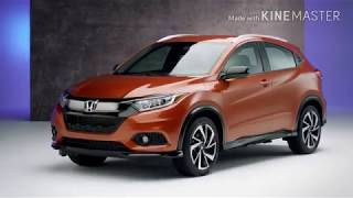 Honda HR-V 2019 overview exterior, comfort & technology