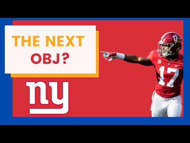 Mock Draft: New York Giants Draft Jaylen Waddle