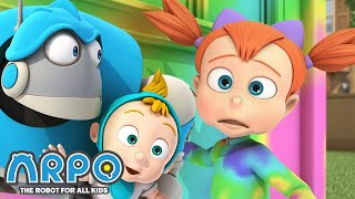 Arpo the Robot | Arpo Changes Color | FULL EPISODE | Funny Cartoons for Kids | Arpo and Daniel