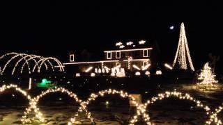 Vista Drive Auburn Christmas Lights