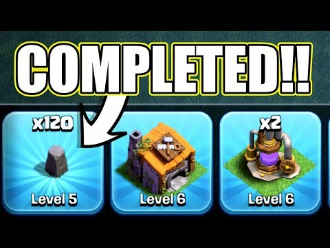 Thumbnail: THE LAST EVER LEVEL 5 WALL!! - Clash Of Clans - PREPARING FOR BH7!