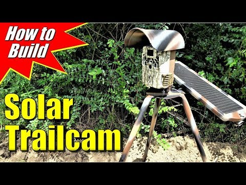 Trail Cam Solar Panel DIY