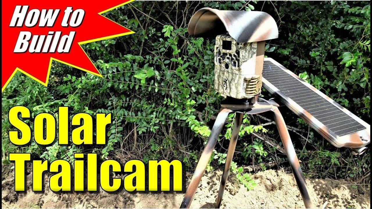 Trail Cam Solar Panel DIY
