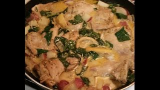 Mocha D'vine Presents Pinterest Meals - Lemon Butter Chicken