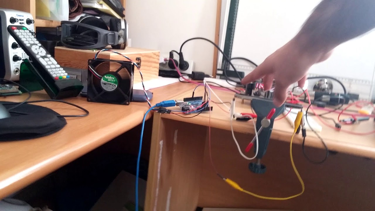 Arduino Pwm Controlling A 4 Wires Pc Fan With Slider Potentiometer 3 Wire Electric Diagram