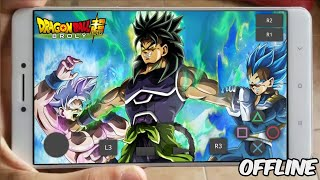 FANTÁSTICO!! DRAGON BALL SUPER BROLY para CELULAR ANDROID (Gameplay HD) DOWNLOAD - MOD PPSSPP