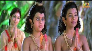 Sri Rama Rajyam movie scenes - Valmiki preaching about Ramayanam - Bala Krishna, Nayantara