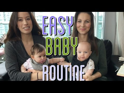 EASY Baby Routine with Allie & AJ