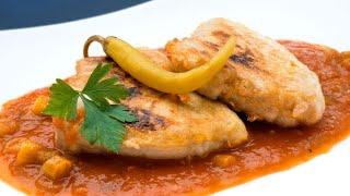 Receta de bonito en salsa de tomate y guindillas de Ibarra - Karlos Arguiñano