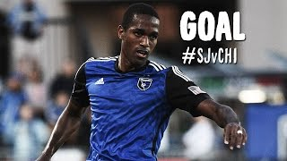 GOAL: Atiba Harris finishes off a great Quakes break | San Jose Earthquakes vs Chicago Fire