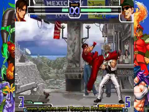 The King of Fighters 2002 - Kim Combos Táticos by Scorpios