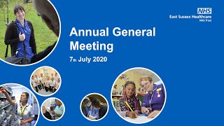 Annual General Meeting - 7th July 2020