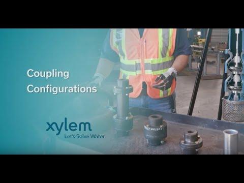 Vertical Turbine Coupling Configurations