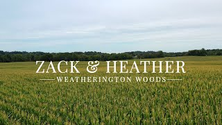 Zack & Heather // 8.31.19 // Weatherington Woods