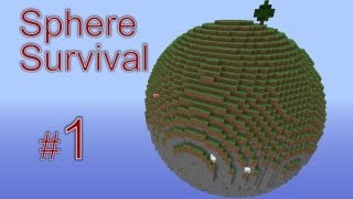 видео: Minecraft - Sphere Survival. #1