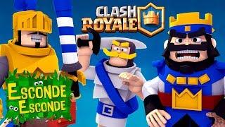 Minecraft: CLASH ROYALE! (Esconde-Esconde)