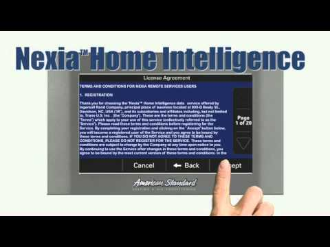 American Standard Gold Xv Platinum Xv Control Nexia