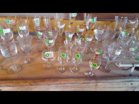 Collectors Crystal Glassware Cordials & Vintage items!