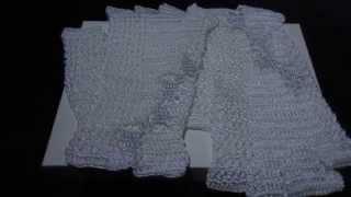 ЭЙВАРДЫ свадебные перчатки белые с серебром.