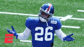 Reacting to Tiki Barber's eyebrow-raising comments about Saquon Barkley | KJZ