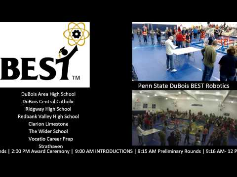 Penn State DuBois - Best Robotics Hub - 2015
