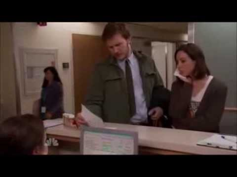 Parks and Rec - Andy Dwyer runs from doctor bill