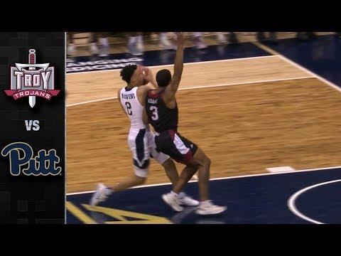 Troy vs Pittsburgh Basketball Highlights (2018-19)