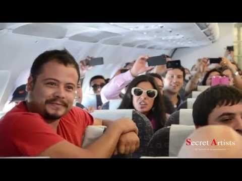 FLASH MOB OPERA SKY AIRLINE CHILE 2014 - SECRET ARTISTS