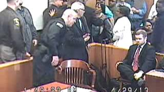 Courtroom Outburst of Man Convicted of Child Abuse