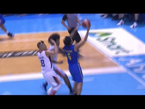 Tremendous pass from Terrence Jones to Don Trollano! | PBA Commissioner's Cup 2019
