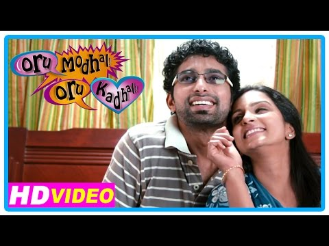 Oru Modhal Oru Kadhal Movie | Scenes | Title Credits | Intro Of Vivek's Family | Meera Krishnan
