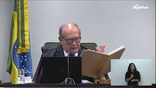 Gilmar Mendes lê trechos de conversas vazadas de Lava Jato sobre denúncia contra Arthur Lira