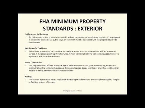 FHA mortgage home buyer guide