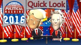 The Political Machine 2016 - Quick Look - Political Simulator