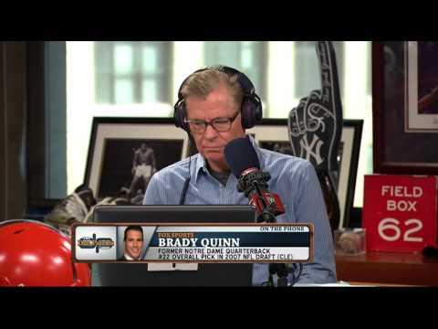 Brady Quinn on The Dan Patrick Show (Full Interview) 9/17/15