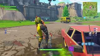 Bug caddie Fortnite: go to the tunel of tomato town