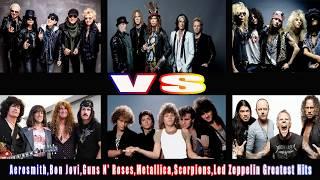 Baixar U2,Scorpion,Eagles,Guns N' Roses... Greatest Hits - Best Rock Songs Of All Time