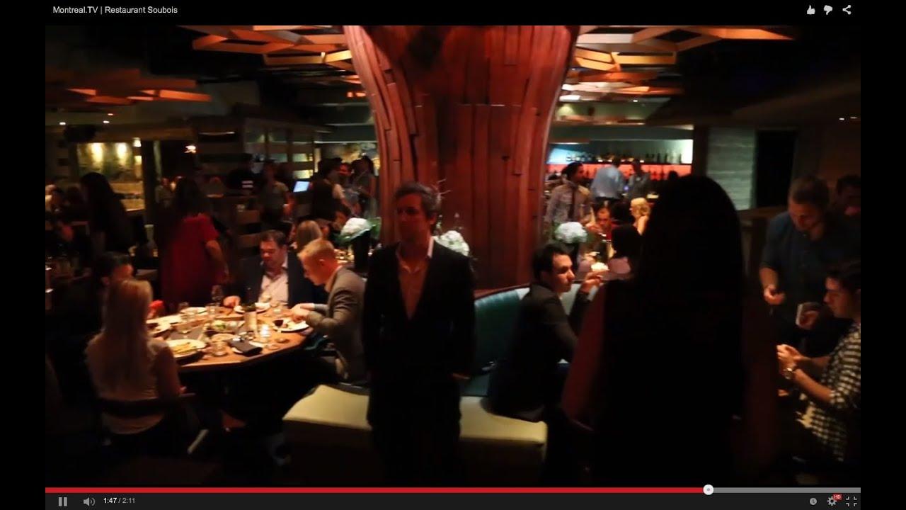 Restaurant soubois montr al montreal tv youtube for Aix cuisine du terroir restaurant montreal