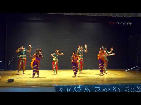 Utti Meeda Koodu - Stage Performance - Tulsa Ugadi 2015