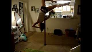 "Pole dance to The Weeknd--""Life of the Party"""