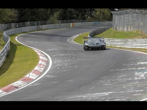 McLaren P1 LM sets Nürburgring record ... then drives home to England