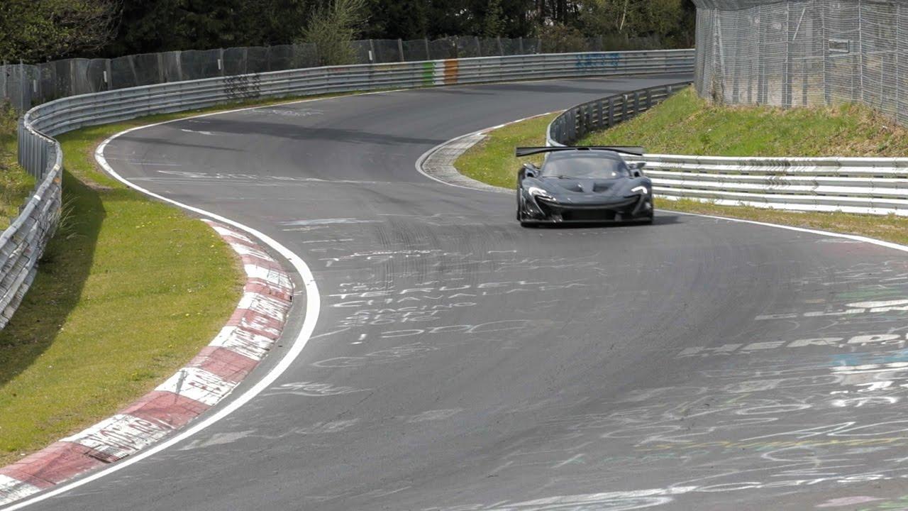 McLaren P1 LM sets record at the Nürburgring