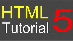HTML Tutorial for Beginners - 05 - Creating a web link